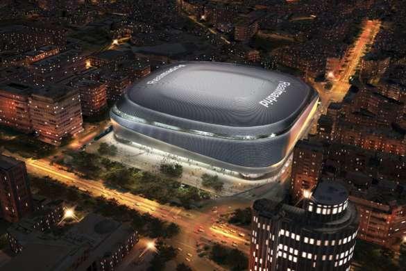 real madrid stade santiago bernadeu football liga