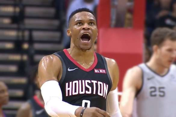 russell westbrook nba basket americain houston rockets