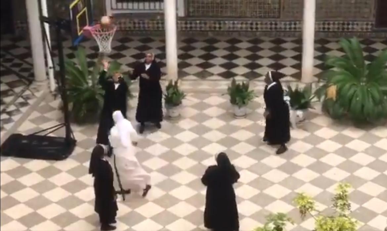 soeurs catholiques basket coronavirus