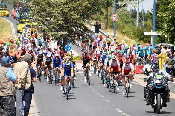 tour de france 2019 peloton cyclisme