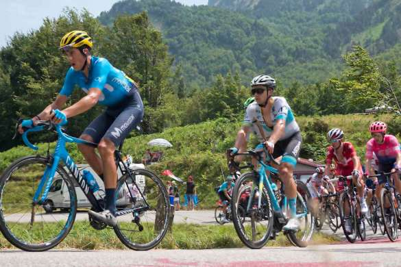 tour de france movistar peloton cyclisme 2019