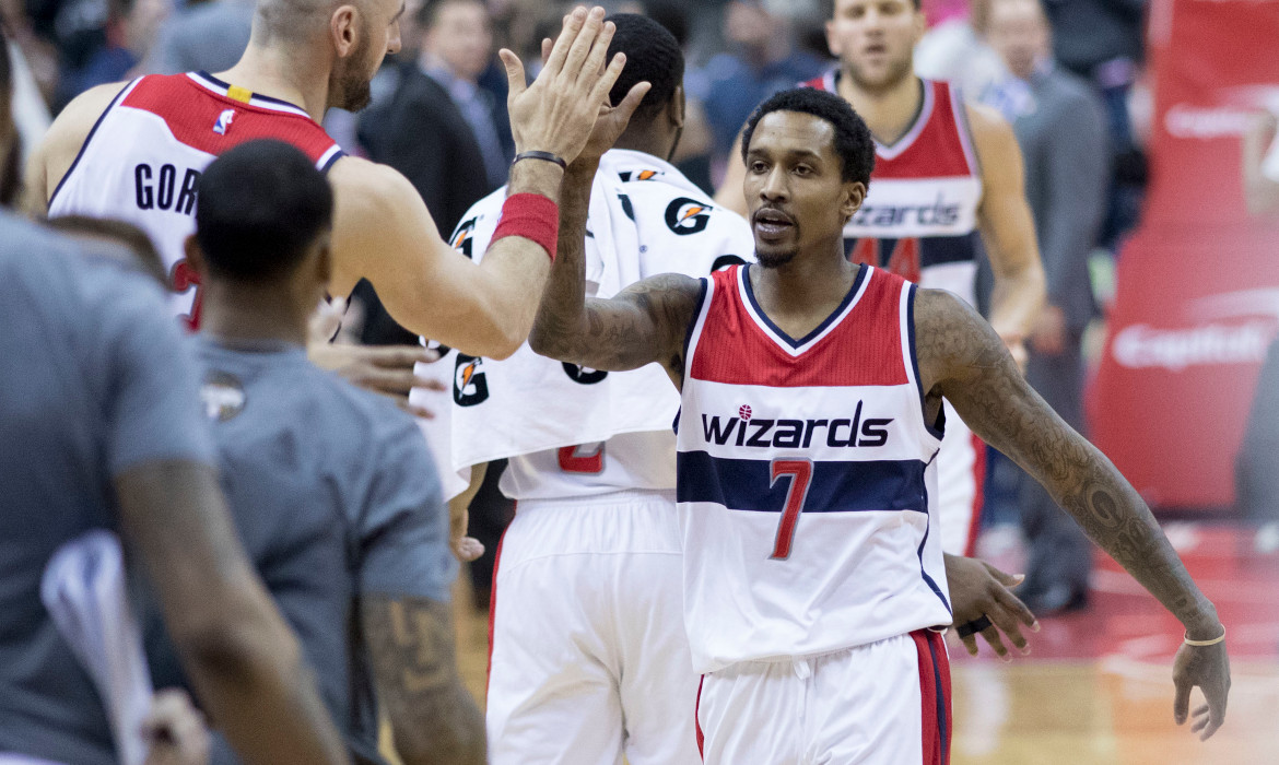 Brandon Jennings nba basket washington wizards