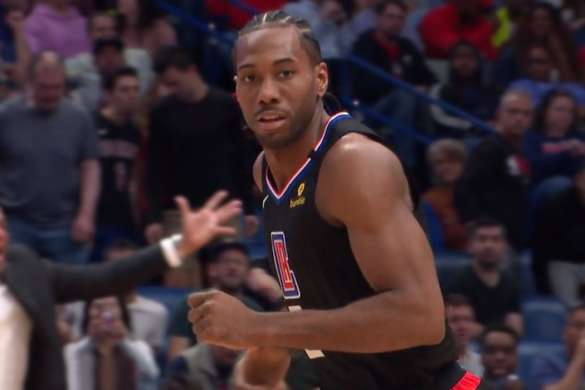 Kawhi Leonard los angeles clippers nba basket