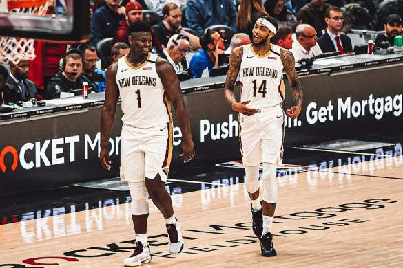 Zion Williamson Brandon Ingram nba new orleans pelicans