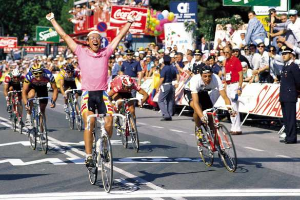 laurent fignon tour d'italie 1989 victoire
