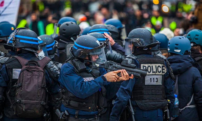 police football repression supporters de football