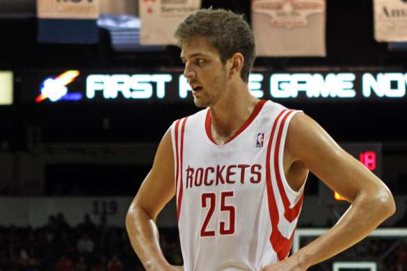 chandler parsons nba basket houston rockets 2012