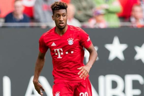 kingsley coman bayern munich football bundesliga