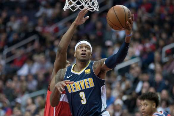 torrey craig denver nuggets nba basket