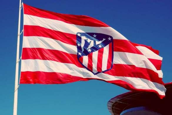 atletico madrid drapeau illustration
