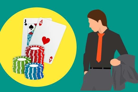casino jeu de cartes illustration