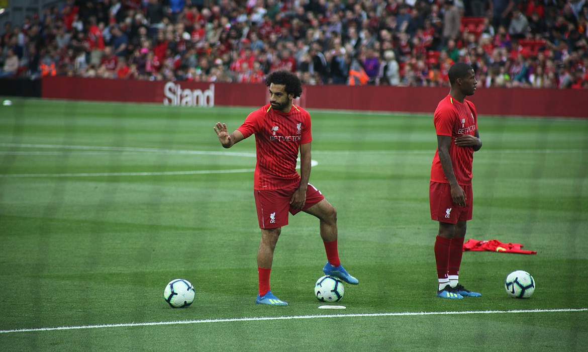 mohamed salah liverpool football premier league 2018