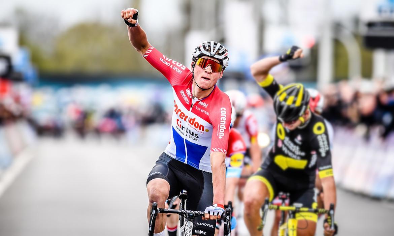 Mathieu van der Poel a travers la flandre 2019