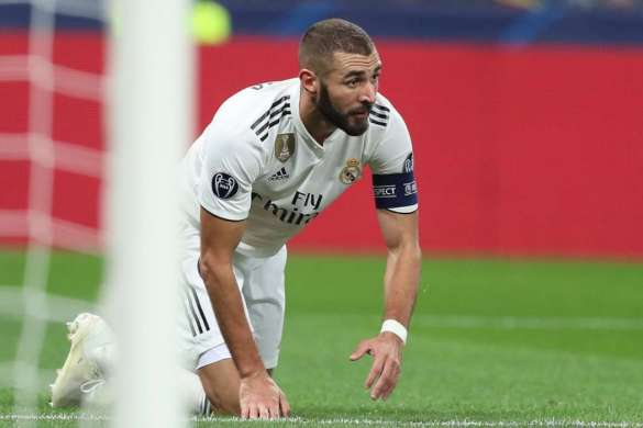 karim benzema real madrid capitaine