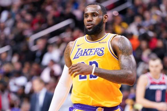 le bron james los angeles lakers 2020