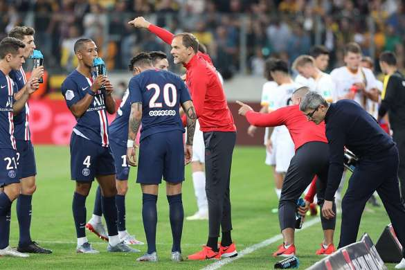 psg thomas tuchel paris saint-germain ligue des champions pause