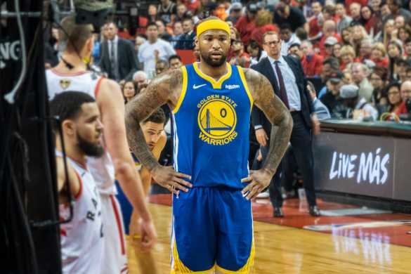 demarcus cousins golden state warriors